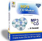 MP3 CD Maker - Burn MP3s to CD!